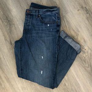 LOFT boyfriend jeans, 28 short